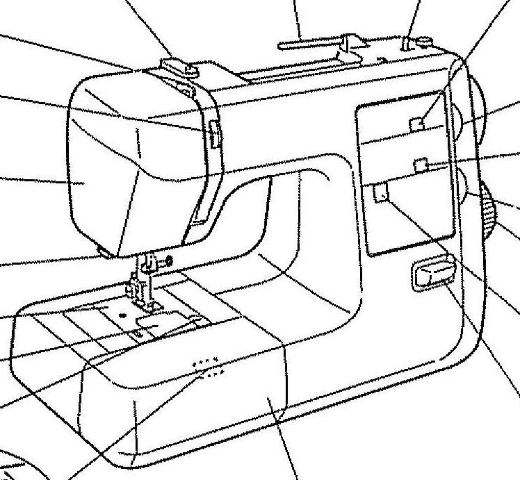 Kenmore Sewing Machine Model 385 Instruction Manual