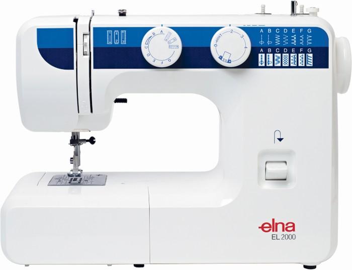 Elna El 2000 Sewing Machine Instruction And User Manual